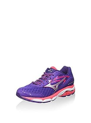 Mizuno Zapatillas de Running Wave Inspire 12 Wos (Morado / Rosa)