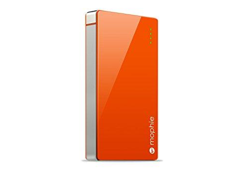 日本正規代理店品・保証付mophie powerstation 4000 高出力モバイルバッテリー オレンジ MOP-BY-000035