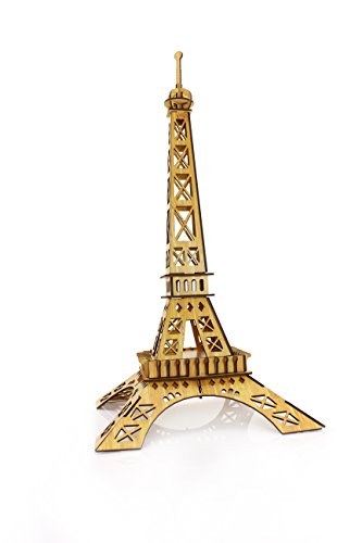 Uping 3D jigsaw puzzles Jigsaw Puzzle puzzle games Bastelset Kits from bamboo-model eiffel - 1