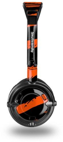 buy Zebra Orange Decal Style Skin Fits Skullcandy Lowrider Headphones (Headphones Sold Separately)
