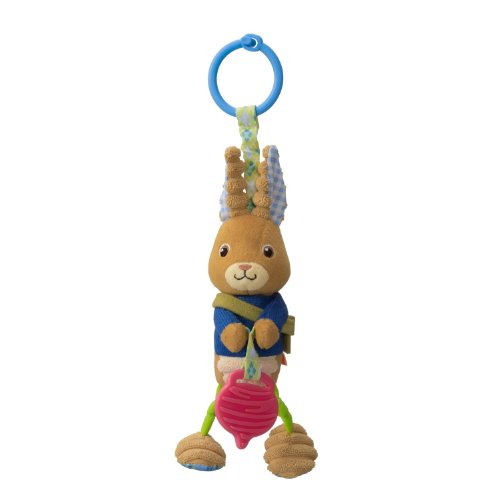 Infantino Jittery Toy, Peter Rabbit (Discontinued by Manufacturer)