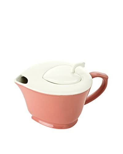 Classic Coffee & Tea by YEDI Inside Out Heart 32-Oz. Teapot, Pink