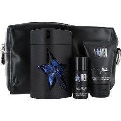 Thierry Mugler Angel Gift Set Eau de Toilette Spray Rubber Bottle 3.4 oz & Hair And Body Shampoo 1.7 oz & Deodorant Stick 0.7 oz & Toiletry Bag 4 pcs by Thierry Mugler