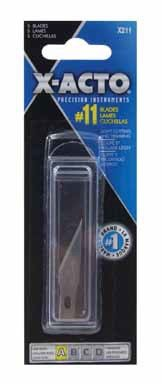 X-Acto Knife Blade No.11 Carded