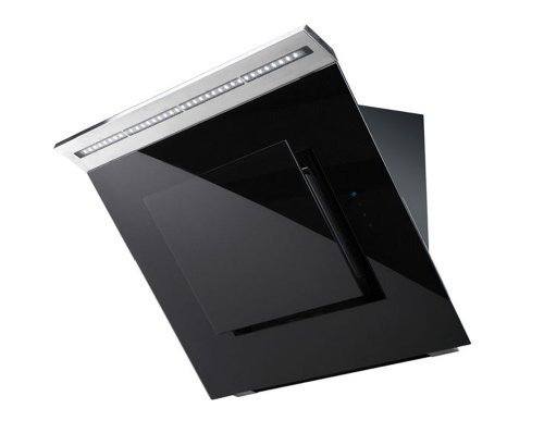 Premier Range 70cm Black Glass Cooker Hood A83.7B