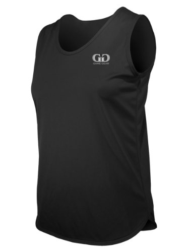 PT903W Women's Cut Single Ply Light Weight Track Singlet-Control Unwanted Odors and Excess Moisture-Great for Competition, Running, or Marathons-Colors Include Black, Green, Navy, Royal, and Purple-Sizes SM-XXXL