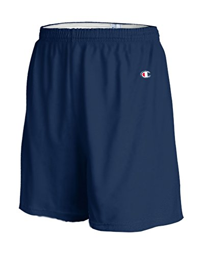 Champion Adult Waistband Gym Short, Navy, Large Large Casual Shorts