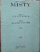 Misty ( Vocal Edition ) - Vintage Sheet Music (Erroll Garner Sheet Music compare prices)