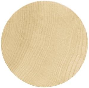 """Wood Turning Shapes-Circle 1-1/2""""X1/8"""" 6/Pkg"""