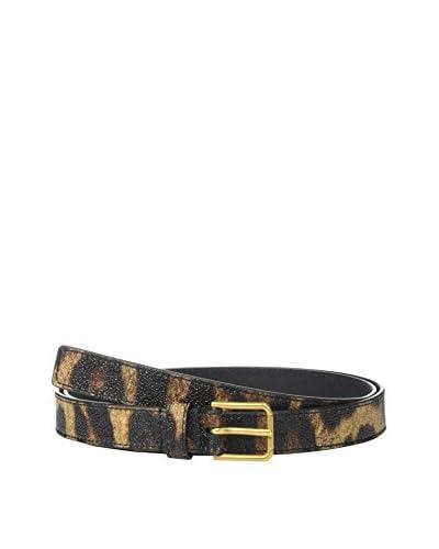 Dolce & Gabbana Cinturón Piel Marrón