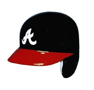 Atlanta Braves Official Batting Helmet - Left Flap by Caseys