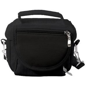 Black Sony Playstation PS Vita Travel Bag Carry Case (room for charger/games/stylus and more) from Modern-Tech