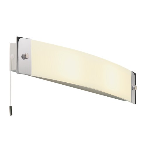 Astro 0242 E14 Bow Wall Light excluding 2 x 40 Watt 230 V Bulbs, Chrome