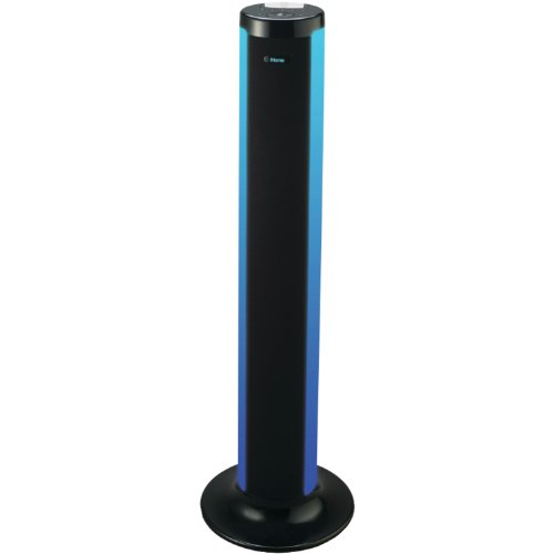 iHome LED Color Changing Tower Stereo Speaker