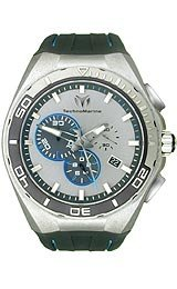 TechnoMarine Cruise Steel Evolution Silver-Tone Dial Men's Watch #112007