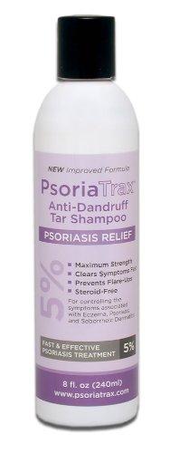 Coal Tar Psoriasis Shampoo Psoriatrax- 25% Coal Tar Solution 12oz (Equivalent to 5% Coal Tar) - 5 to 10 Stronger than the Other Brands