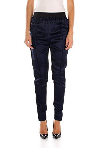 463921J690NKC01-Cline-Pantalons-Femme-Viscose-Bleu