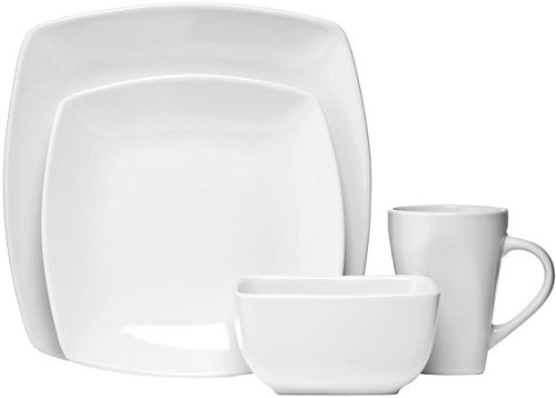 16pc Dinner Set White