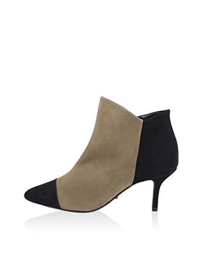 Schutz Zapatos abotinados  Beige / Negro EU 36