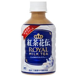 紅茶花伝 ロイヤルミルクティー 280ml PET×24本
