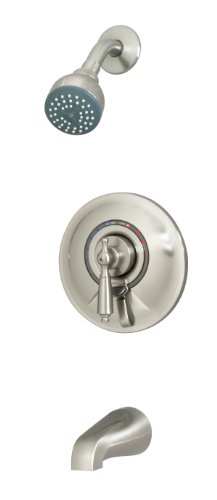 Symmons S-7602-STN-RP Allura Tub/Shower System, Satin Nickel (Hot Tub And Shower System compare prices)