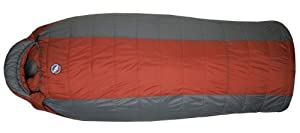Big Agnes Whiskey Park 0F Synthetic Sleeping Bag by Big Agnes