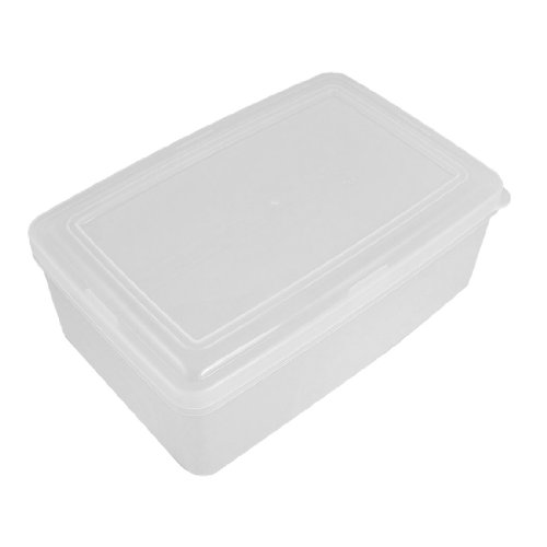 Kitchen 1900Ml Freezer Microwave Safe Locked Lid Food Storage Container Case
