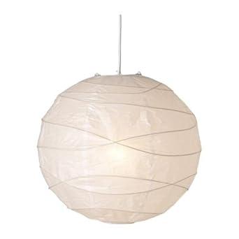 lampadario a palla : Ikea Regolit - Lampada a sospensione con paralume in carta a forma di ...