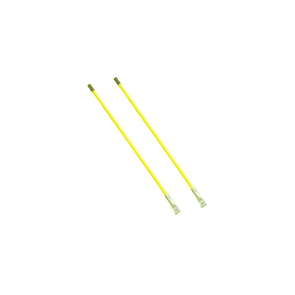 This is a Brand New Aftermarket Guide Stick Kit Yellow Fits Meyer Snow Plows, 1/2 Diameter X 26 Length, Includes Mounting Hardware
