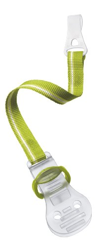 Philips Avent Scf185/01 Pacifier Clip, Green , 2 Count front-3457