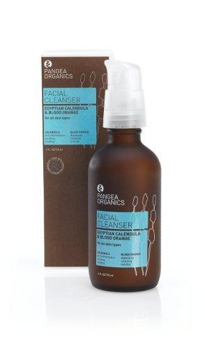 Pangea Organics Facial Cleanser, Egyptian Calendula & Blood Orange, 4-Ounce Box