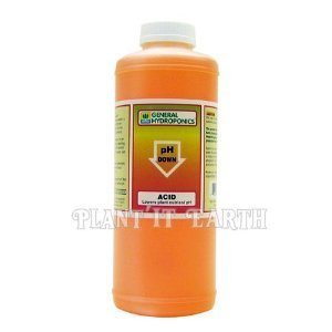 General Hydroponics Ph Down Adjusting Solution - 1 Quart