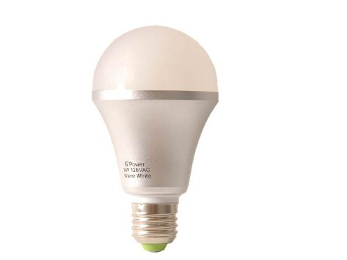 G7 Power G7A21930 900 Lumen LED Light Bulb, 9-watt, Warm White