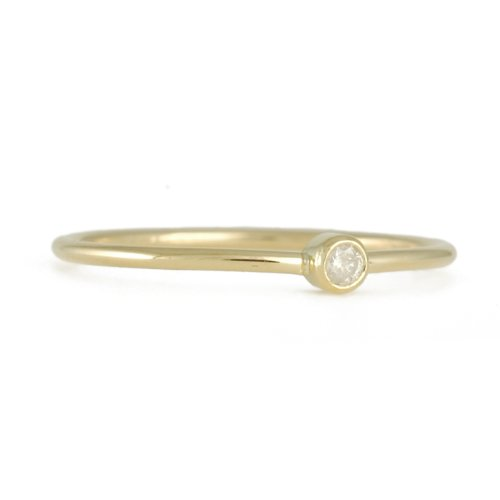 ELE KEATS- Baby Ring with Diamond