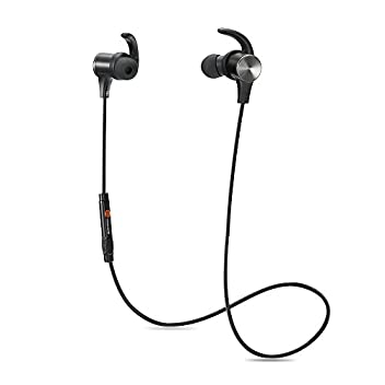 Wearing a Necklace  New TaoTronics TT-BH07U (Upgraded Version) headset lets you enjoy great sounds on-the-go. Comfortable and snug fit make sure the headset stays put when you are out running, jogging or exercising. When you are done with your music,...