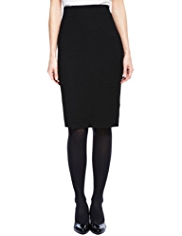 M&S Collection Textured Pencil Skirt