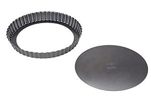 Wilton Professional Results Non-Stick Tart-Quiche Pan, Silver, 9 Inch