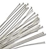 Sterling Silver Head pins 24 Gauge 2 Inches (20)