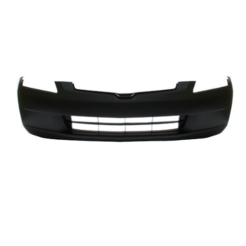 CarPartsDepot 352-20128-10-PM FRONT BUMPER COVER PRIMED BLACK PLASTIC NEW HO1000210 (2003 Honda Accord Ex Bumper Cover compare prices)