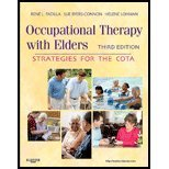 img - for Occupational Therapy with Elders- Strategies for the COTA (3rd, 11) by [Hardcover (2011)] book / textbook / text book