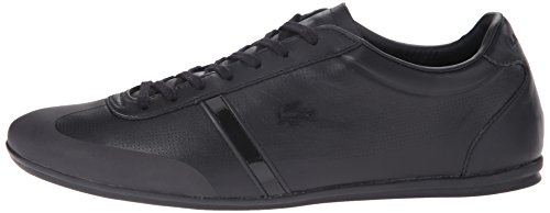 Lacoste Men's Mokara 116 1 Fashion Sneaker, Black, 9 M US