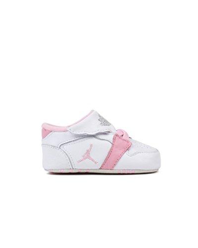 Nike Jordan 1ST Baby Crib (CB) Shoes White/Pink 370305-162 (SIZE: 3C)