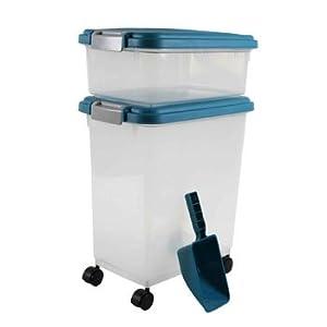 IRIS Airtight Pet Food Container Combo Kit by IRIS