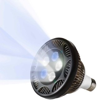 Ecoxotic Par38 Led Aquarium Lamp, 12000K
