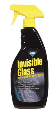 Stoner 92166 Invisible Glass for Window, Windshield and Mirror Cleaner - 22 oz.