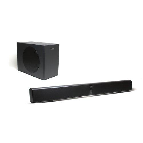 Energy Power Bar Elite Soundbar with Wireless Subwoofer (Black Satin)