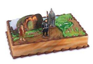 The Hobbit Cake Topper Kit