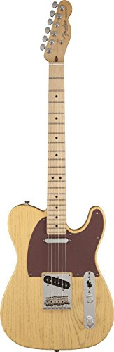 Fender Fsr American Telecaster Electric Guitar, Rustic Ash Body, Maple Fingerboard - Butterscotch Blonde