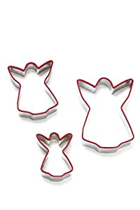 Cooksmart Kids 8-Piece Christmas Cookie Cutter Set, Multi-Color