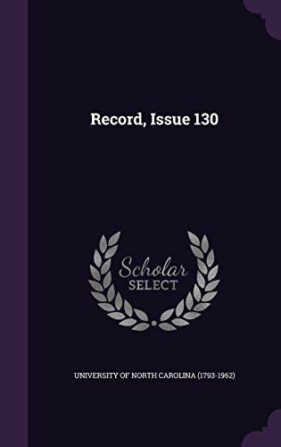 Record, Issue 130